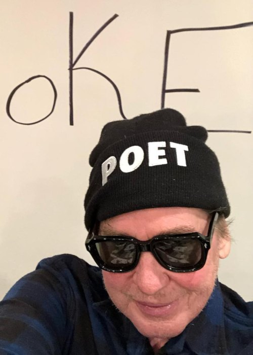 Val Kilmer in a selfie in January 2019