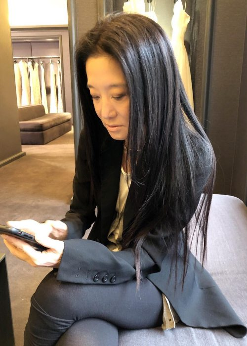 Vera Wang in an Instagram post as seen in February 2019