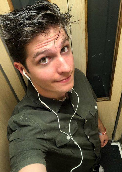 Yasserstain in a selfie in June 2019