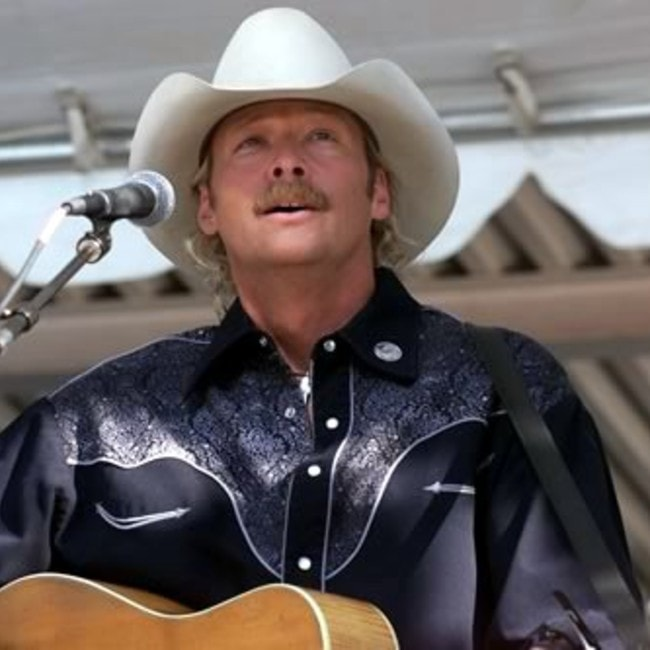 Alan Jackson as seen in September 2002