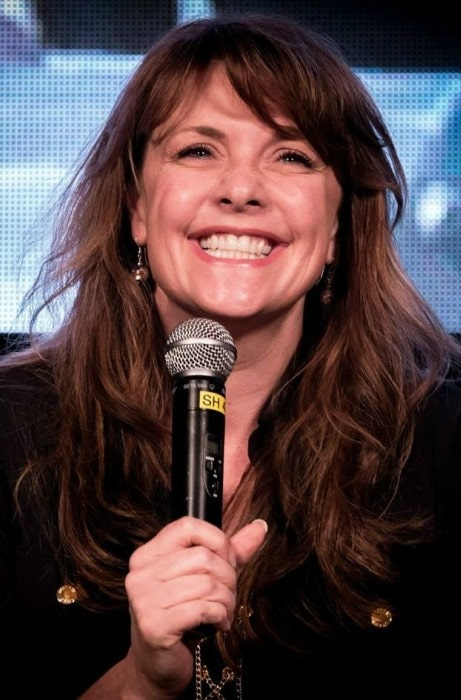 Amanda Tapping at Oz Comic Con in Adelaide in April 2014