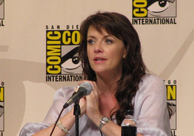 Amanda Tapping at the Comic Con 2008 Event
