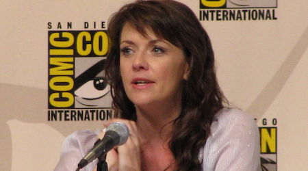 Amanda Tapping Height, Weight, Age, Body Statistics