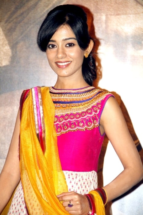 Amrita Rao as seen at the first look launch of her film Singh Sahab The Great in March 2014