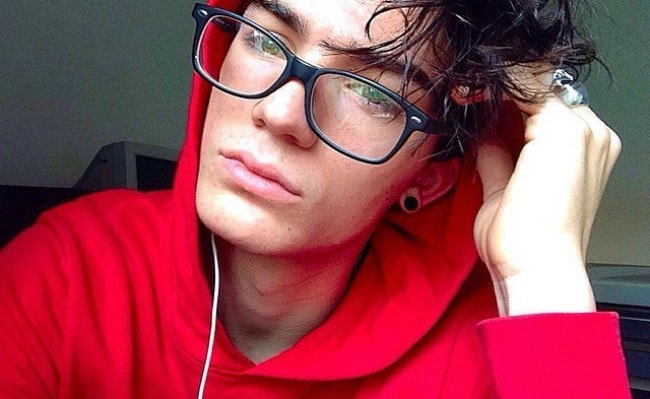 Andrea Maddaluni in an Instagram selfie as seen in October 2016