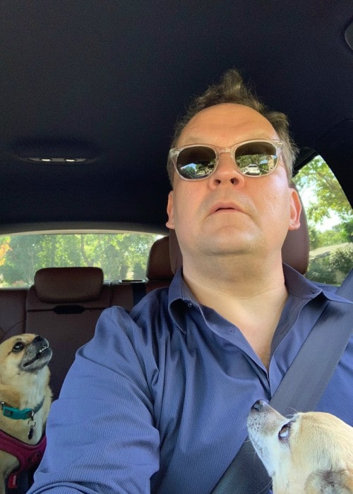 Andy Richter as seen in a Twitter selfie in June 2019