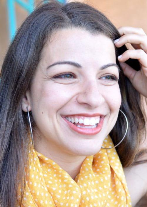 Anita Sarkeesian as seen in February 2012