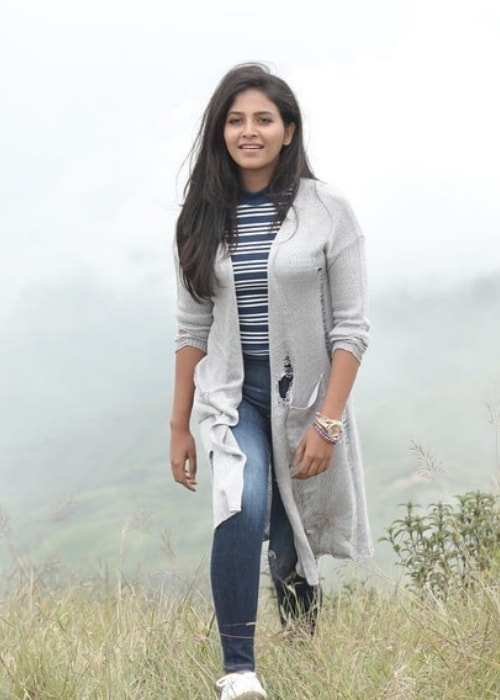 Anjali as seen in a picture taken in May 2019