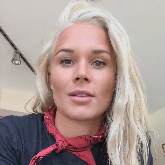 Ashlyn Harris as seen in August 2015