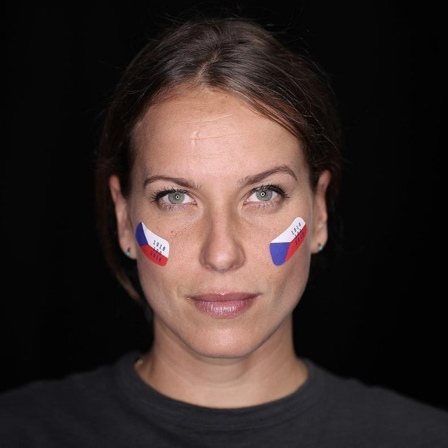 Barbora Strýcová as seen in November 2018