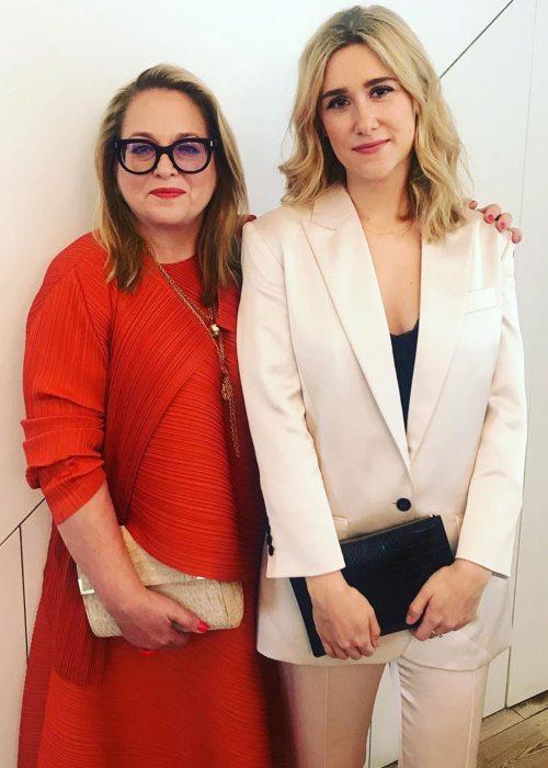 Beatie Edney (Left) and Alexandra Sinclair as seen in June 2019
