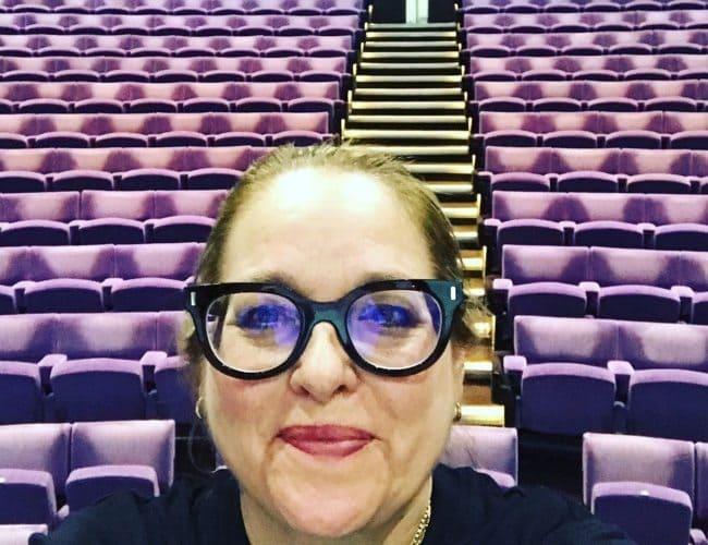 Beatie Edney in a selfie in May 2019