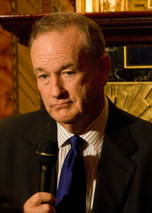 Bill O'Reilly at a Hudson Union Society event in September 2010