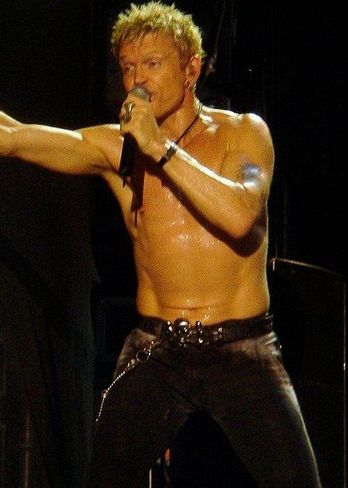 Billy Idol at Gurtenfestival in July 2006
