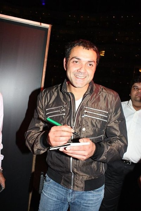 Bobby Deol as seen at the Audio release of the film Chamku in 2008