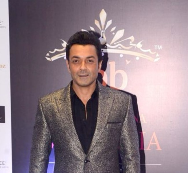Bobby Deol as seen at the Femina Miss India Grand Finale in June 2018