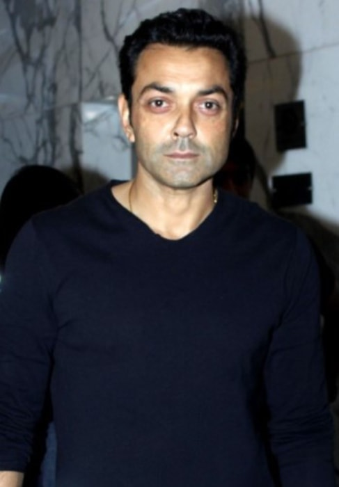Bobby Deol as seen at the special screening of the film Poster Boys in September 2017
