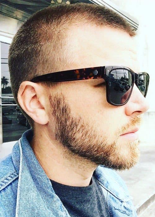 Brett Davern in an Instagram post as seen in June 2019