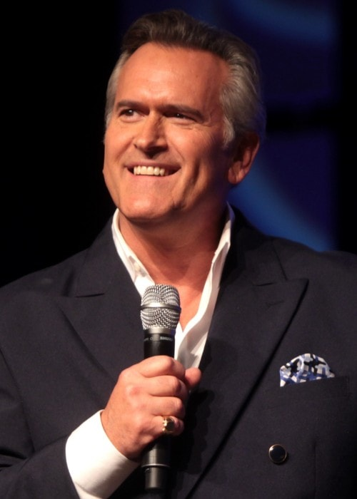 Bruce Campbell as seen in 2014 at the Phoenix Convention Center in Phoenix, Arizona