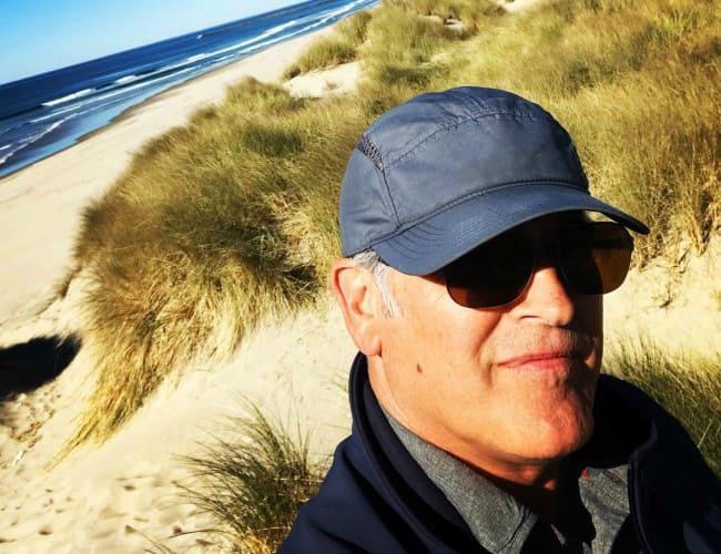 Bruce Campbell in an Instagram selfie as seen in November 2018