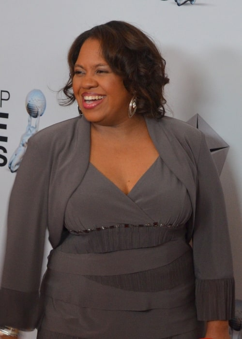 Chandra Wilson as seen in a picture taken at the 44th NAACP Image Awards Nominee's Luncheon at the Montage Beverly Hills in California, United States in January 2013
