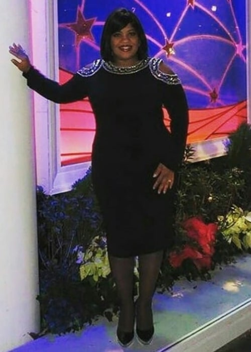 Chandra Wilson as seen while posing for a picture in December 2018