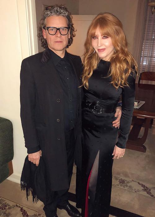 Charlotte Tilbury with her husband George Waud in February 2019 at Chateau Marmont