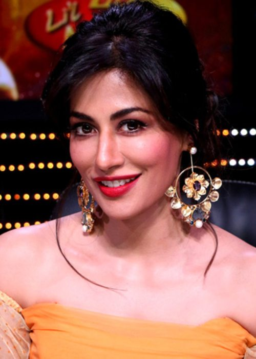 Chitrangada Singh promoting her movie Raazi on the sets of a show in May 2018
