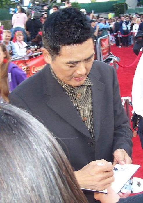 Chow Yun-fat as seen in May 2007