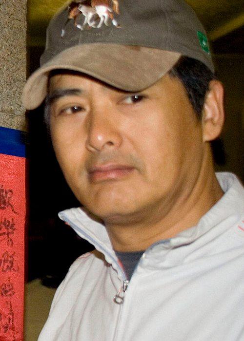 Chow Yun-fat at Edinburgh Place in Hong Kong as seen in April 2007