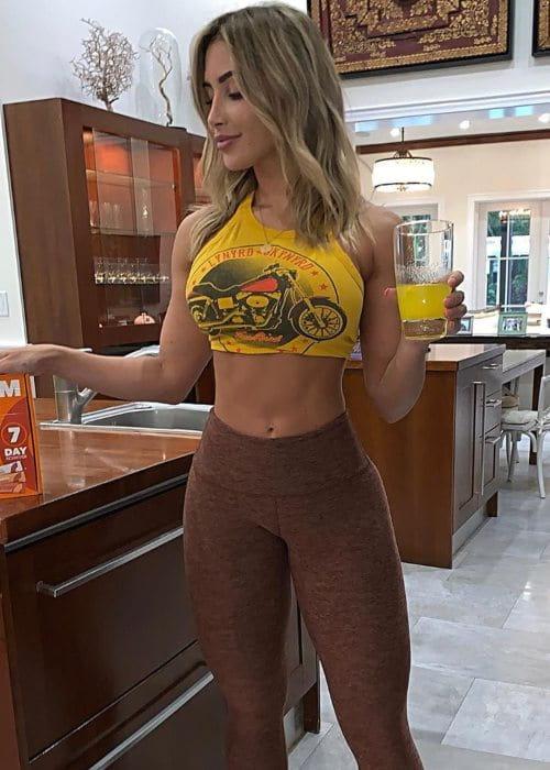 Claudia Sampedro as seen in June 2019