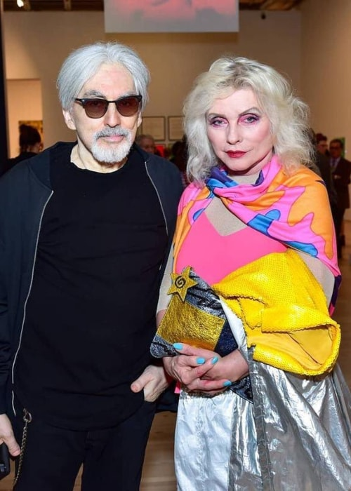 Debbie Harry and founding member of Blondie Chris Stein as seen in a picture taken in November 2018