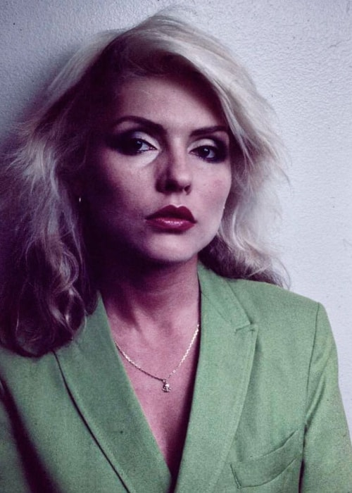 Debbie Harry as seen in a picture taken in New York City, New York in May 2017