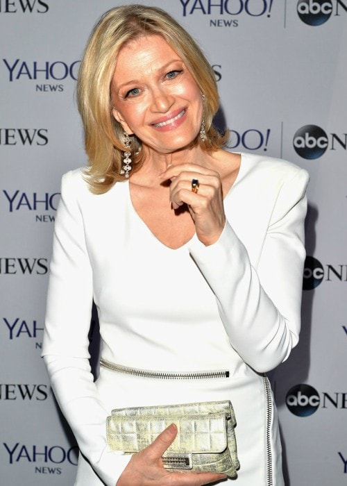 Diane Sawyer at Washington Hilton in May 2014