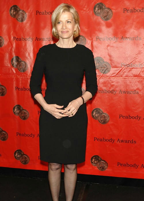 Diane Sawyer at the 69th Annual Peabody Awards Luncheon in May 2010