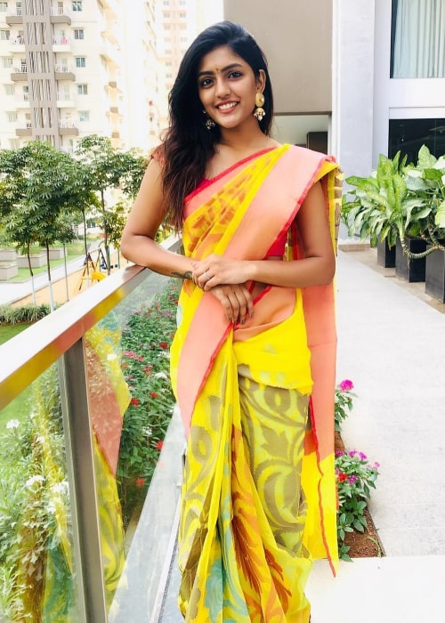 Eesha Rebba as seen in a picture taken in January 2019