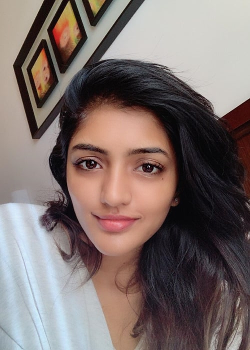 Eesha Rebba as seen in a selfie taken in May 2019