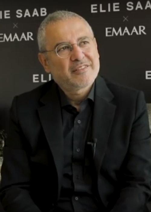 Elie Saab as seen in April 2019