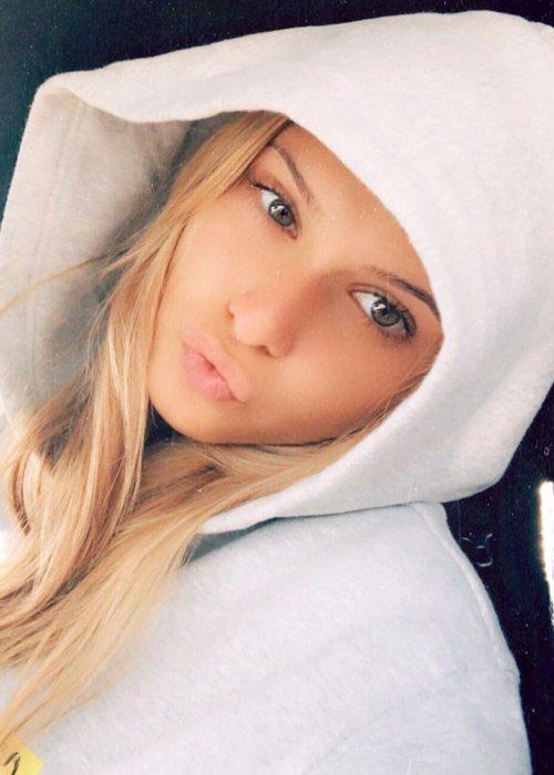 Emma MacDonald in an Instagram selfie as seen in June 2019