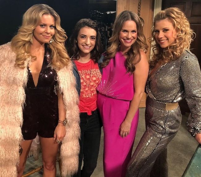 From Left to Right - Candace Cameron Bure, Soni Nicole Bringas, Andrea Barber, and Jodie Sweetin