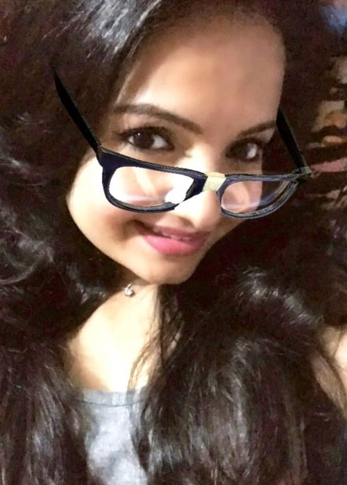 Giaa Manek as seen in a selfie taken in December 2018