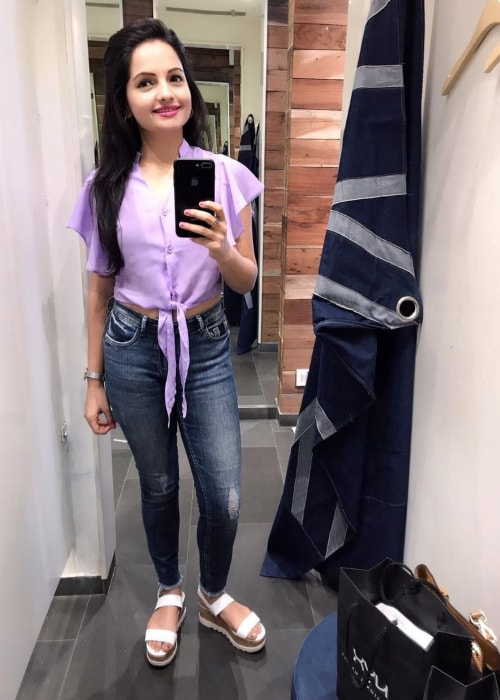 Giaa Manek as seen in a selfie taken in September 2018