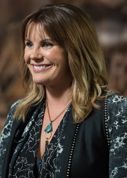 Grace Potter as seen during an interview by NASA TV in June 2018 at the John F. Kennedy Center for the Performing Arts celebrating NASA's 60th Anniversary in Washington, D.C., United States