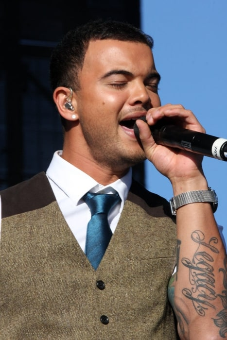 Guy Sebastian as seen in December 2011