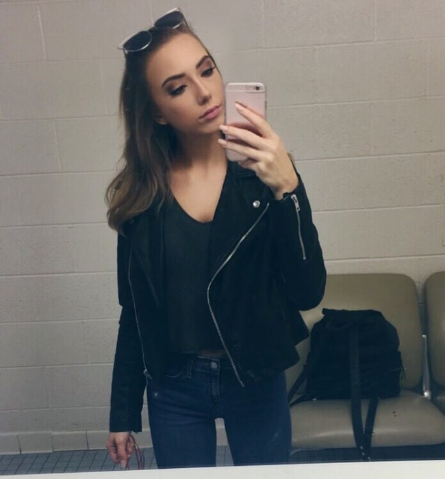 Hailie Jade as seen in an Instagram selfie in October 2016