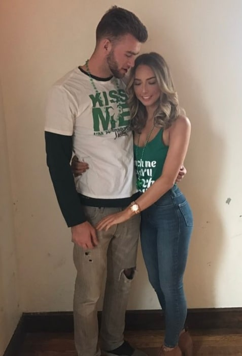 Hailie Jade as seen with Evan McClintock in March 2017