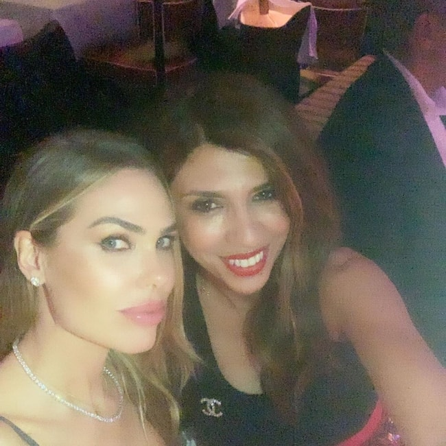 Ilary Blasi as seen in an Instagram selfie with friend Alessia Solidani in June 2019