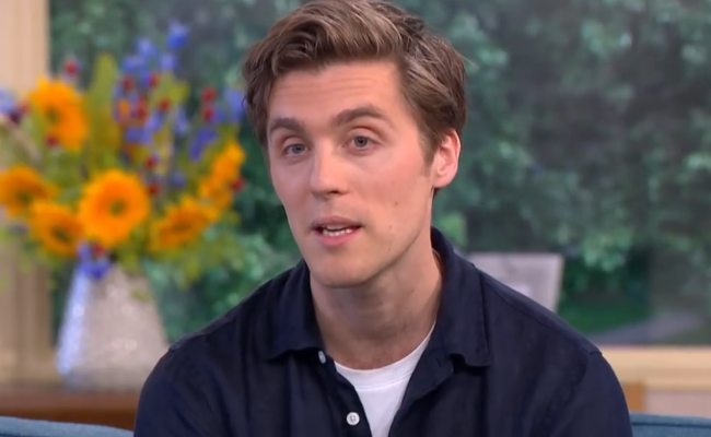 Jack Farthing during an interview as seen in June 2017