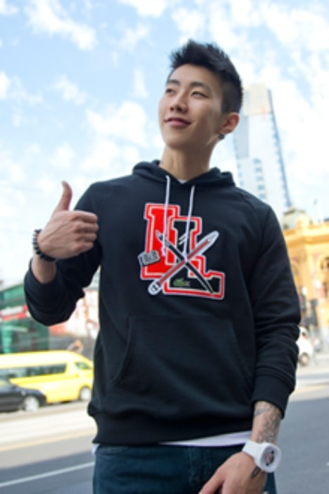 Jay Park as seen at Flinders Street Station in Melbourne, Australia in September 2012