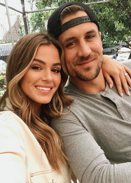 JoJo Fletcher as seen while taking a selfie with Jordan Rodgers during a coffee date in April 2019
